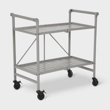 INTELLIFIT Patio Folding Serving Cart - Cosco