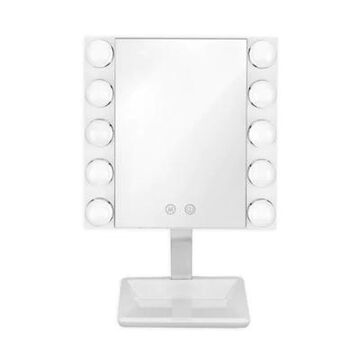 Conair Led Lighted Vanity Makeup Mirror In White
