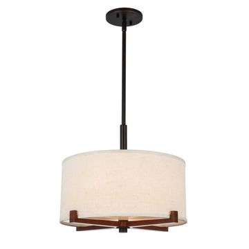 Woodbridge Lighting 13422MEB-S Brendan Pendant