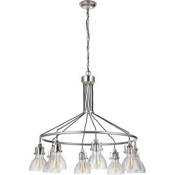 Craftmade 51228-PLN State House Chandelier Polished Nickel