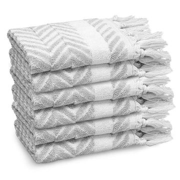 Linum Home Textiles 6-pack Washcloth Set