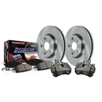 Power Stop KCOE2299 Autospecialty Brake Kit W/Calipers -Front