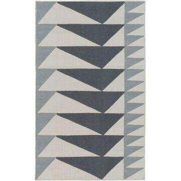 Surya Renata 8' x 10' Area Rug in Charcoal/Light Grey
