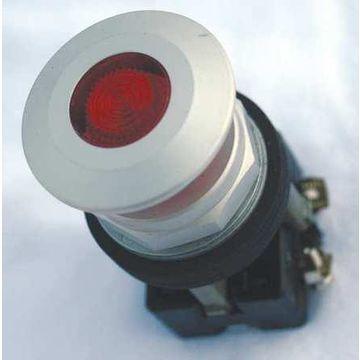 EATON HT8FBRFL7 Illum Push Button Operator,30mm,Red