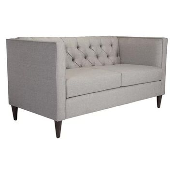 Zuo Modern Grant Loveseat, Light Gray