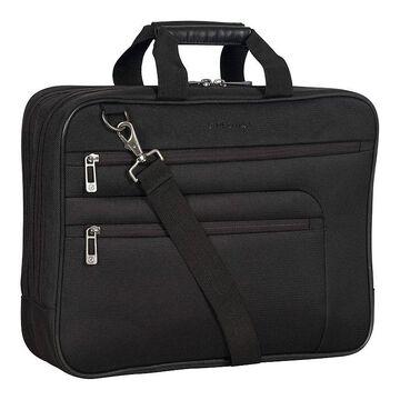 Heritage Laptop Business Case & Tablet Portfolio Bag, Black
