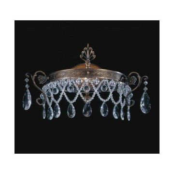 Metropolitan N950841 1 Light Wall Sconce from the Crystal Collection