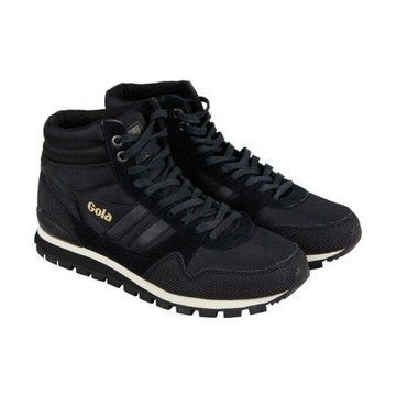 Gola Ridgerunner High II Black Black Mens Athletic Training Shoes