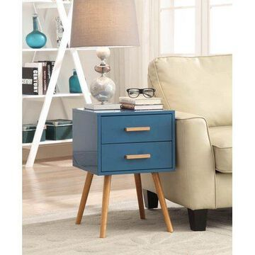 Convenience Concepts Oslo 2-Drawer End Table, Multiple Colors