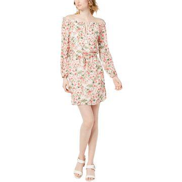 maison Jules Womens Rothschild Off-Shoulder Dress