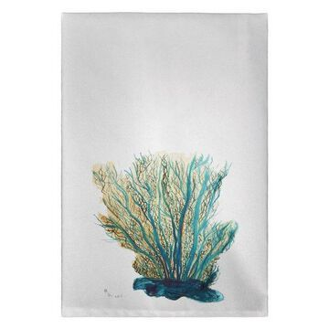 Blue Coral Guest Towel Set of Two