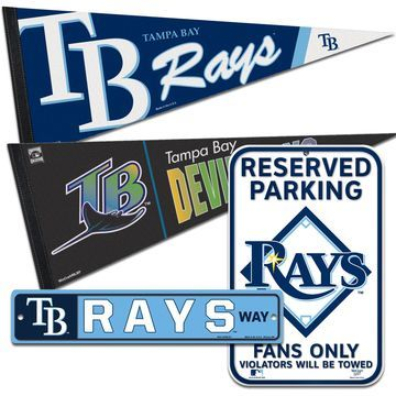 Tampa Bay Rays WinCraft Fan Cave Set