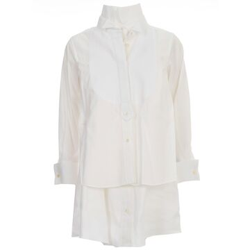 Sacai Cotton Poplin Shirt Dress