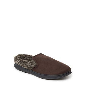 Dearfoams Cozy Comfort Will Moc Toe Clog Slipper (Mens)