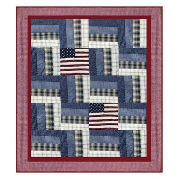 Patriot Luxury King Quilt, 120
