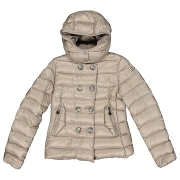 Moncler Beige Synthetic Jacket & Coat