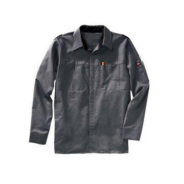 Red Kap Men's Long Sleeve Performance Plus Shop Shirt with OIL BLOK Technology