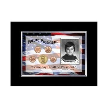 American Coin Treasures Future President 5 Coin Frame