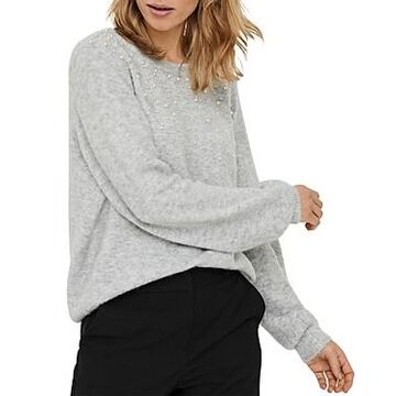 Vero Moda Plaza Embellished Sweater