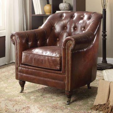 Benzara Comfy Accent Chair