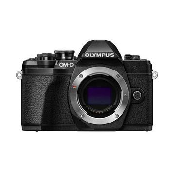 ''Olympus OM-D E-M10 Mark III Mirrorless Camera Body, Black''