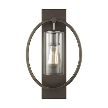 Feiss Marlena 10.5-in W 1-Light Antique Bronze Transitional Wall Sconce | WB1846ANBZ
