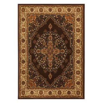 Home Dynamix Royalty Tansy 8' x 10' Area Rug in Brown/Ivory