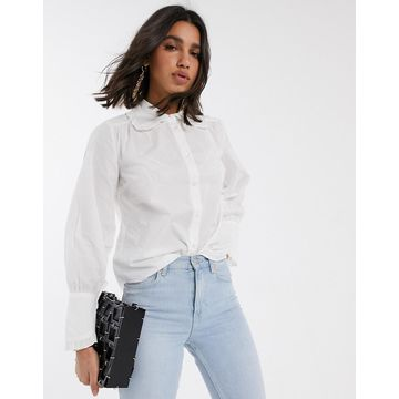 Y.A.S shirt with lace collar-Multi