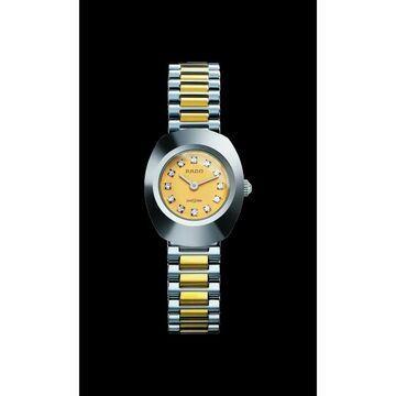 Rado Women's R12558633 'Original' Diamond Two-Tone Stainless Steel Watch