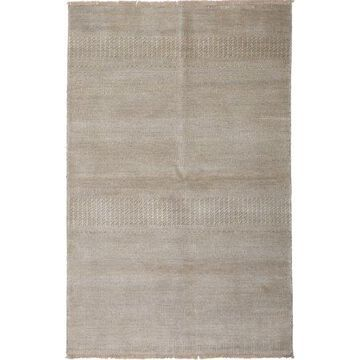 Solo Rugs One-of-a-kind Savannah Hand-knotted Area Rug 4' x 6'