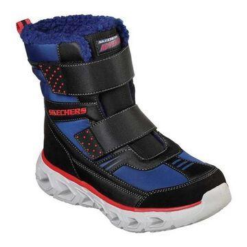 Skechers Boys' S Lights Hypno-Flash 2.0 Street Breeze Boot Navy/Black