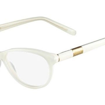 Chloe CE 2626 102 Womens Glasses White Size 54 - Free Lenses - HSA/FSA Insurance - Blue Light Block Available