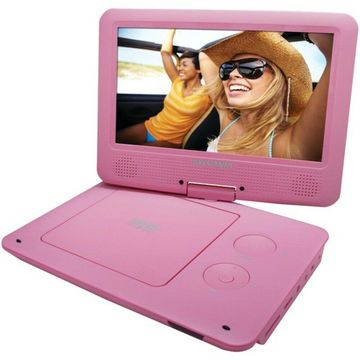 SYLVANIA SDVD9020B-PINK 9 Portable DVD Player with 5-Hour Battery (Pink)