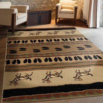Orian Rugs Whitetail Bisque Area Rug or Runner