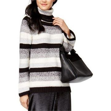Kensie Womens Striped Knit Sweater