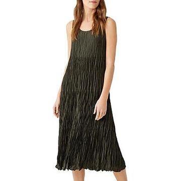 Eileen Fisher Tiered Silk Dress