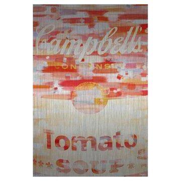 Parvez Taj Campbells Art Print on Brushed Aluminum