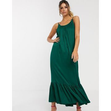 Y.A.S maxi dress in textured stripe