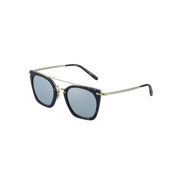 Dacette Acetate/Metal Aviator Sunglasses