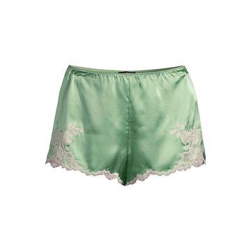 Natori Lolita Silk & Lace Sleep Shorts