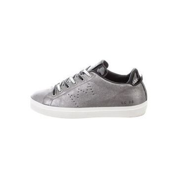Leather Sneakers Grey