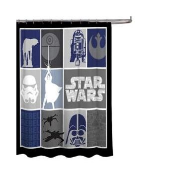 Star Wars Classic Shower Curtain Bedding