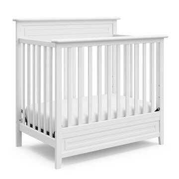 "Storkcraft Petal Convertible Mini Crib With 3"" Mattress -"