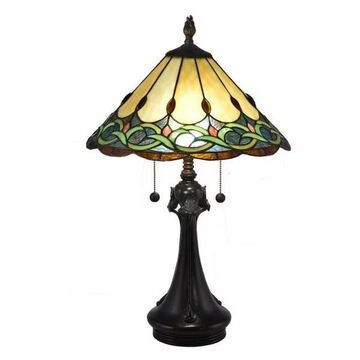 Dale Tiffany Adair - Two Light Table Lamp