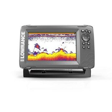 Lowrance HOOK2 7X - 7-inch Fishfinder with SplitShot Transducer and GPS Plotter