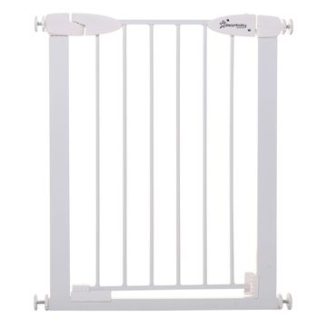 Dreambaby& Boston Metal Tension Mount Slimline Security Gate in White