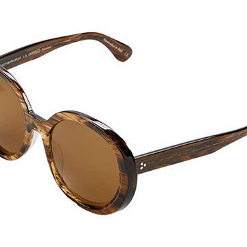 Oliver Peoples Leidy (Sepia Smoke/Brown Polarized) Fashion Sunglasses