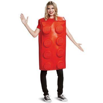 Disguise LEGO Red Brick Classic Adult Costume-Medium/Large