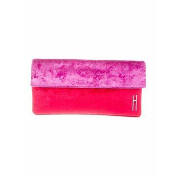 Velvet Clutch Bag Red