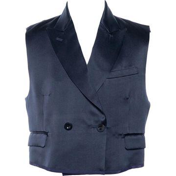 Sacai \N Navy Silk Jackets